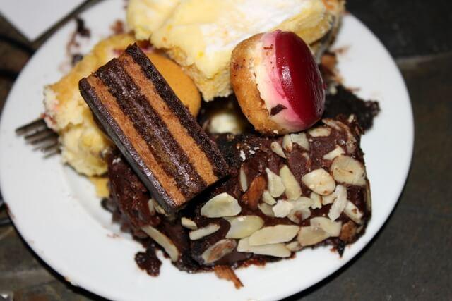 Assorted desserts from Shamrock Foods