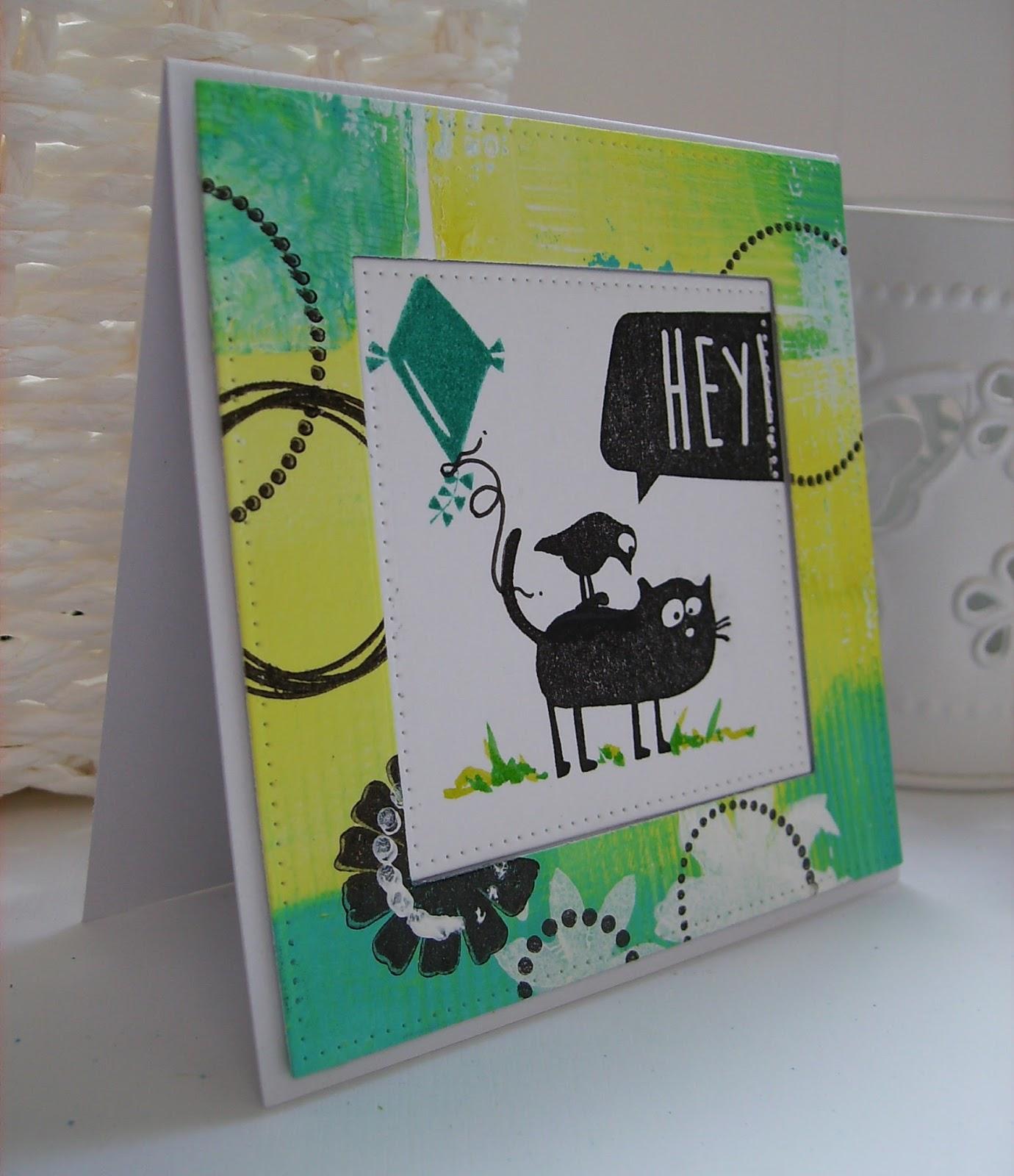 scrapcolour gelli plate 2 cats on appletrees. Black Bedroom Furniture Sets. Home Design Ideas