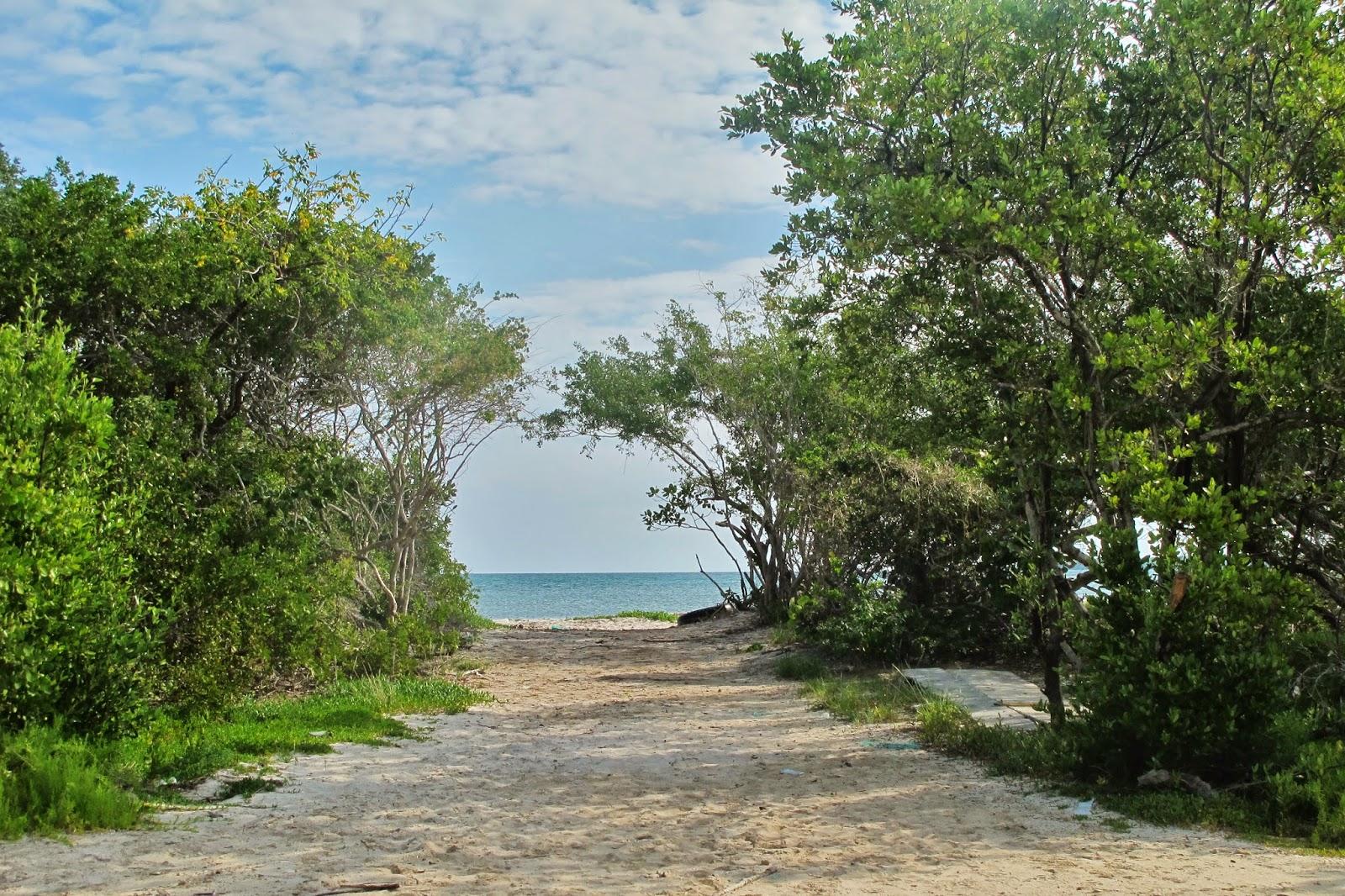 Praia deserta no Cayo Santa Maria, em Cuba.