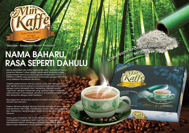 Mineral Coffee kini Min Kaffe sama rasa lazat seperti dahulu