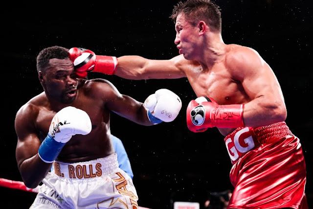 Gennady Golovkin Stops Steve Rolls In Four Rounds Video HD Highlights