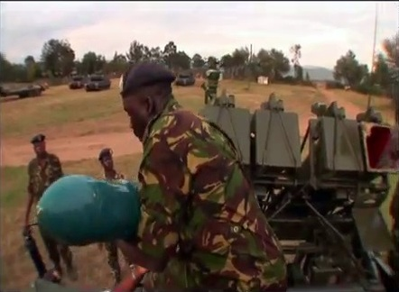 World Military And Police Forces Kenya
