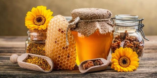 cantik dengan madu