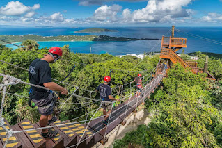 Honeymoon Destinations US Virgin Islands adventure