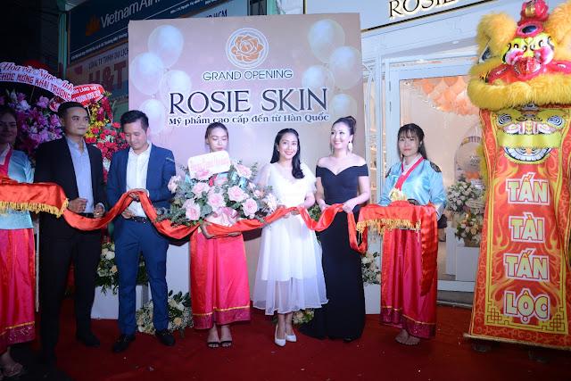 Ra mắt Thương hiệu mỹ phẩm cao cấp Rosie Skin
