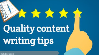 Content quality, post quality, blogging, blog post content quality