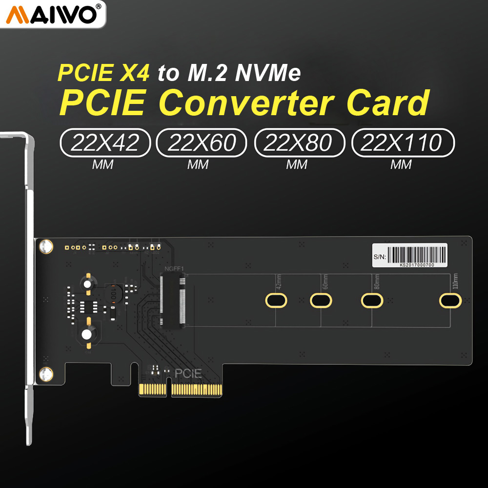 Maiwo Kt016l Pcie X4 To M2 Nvme Ssd Adapter Hard Drive Converter Loop September Powerbank Slim 80000mah Card