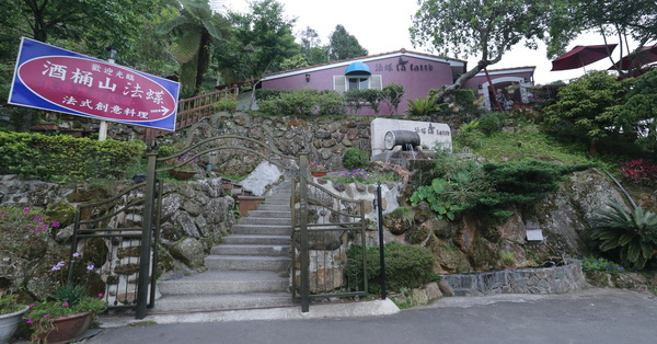 台中太平|酒桶山-法蝶藝術廚房,酒桶山上最美民宿餐廳