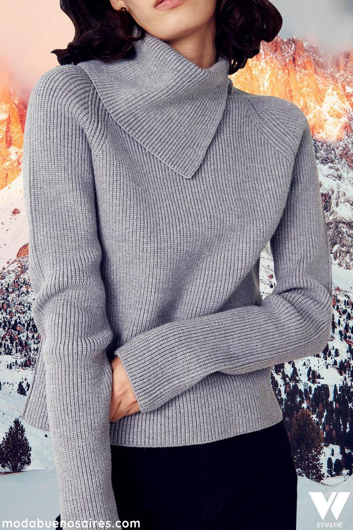sweaters cuello bolcado inviermo 2021