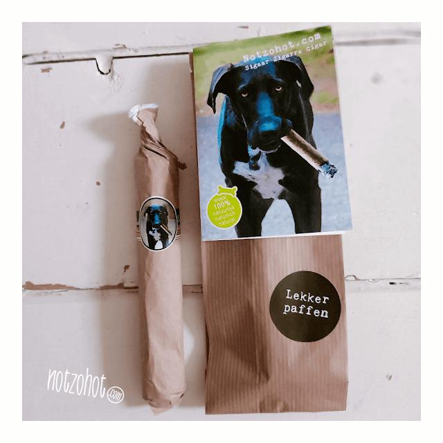 Lekker paffen | Honden cadeau | Beterschap De sigaar