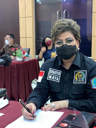 Maya Rumantir Bersama BAP DPD RI  Kunjungan Kerja di Sumatra Utara