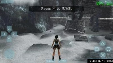 Tomb Raider PPSSPP Cso Iso Ukuran Kecil For Android