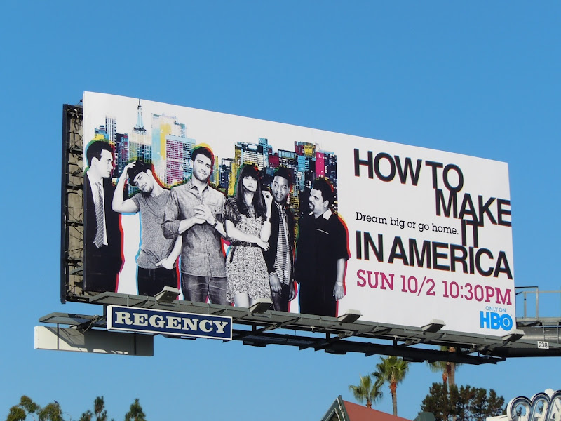 How to make it in America season 2 billboard