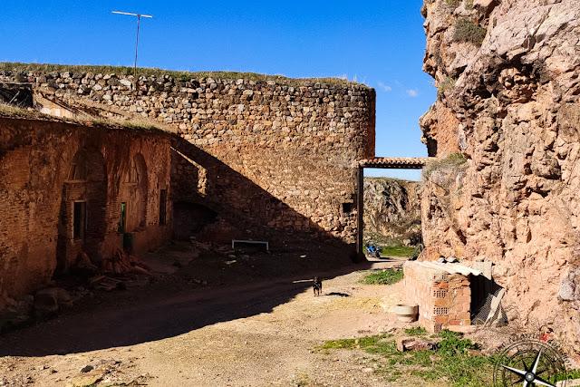 segunda terraza castillo de Montizón