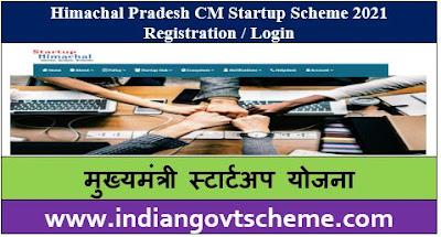 Himachal Pradesh CM Startup Scheme