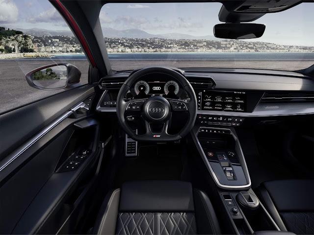 Novo Audi S3 Sedan 2021 fica mais esportivo e tecnológico