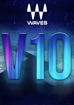 Cover do pacote de plugins Waves 10