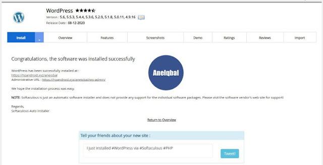 cara instal wordpress di hosting