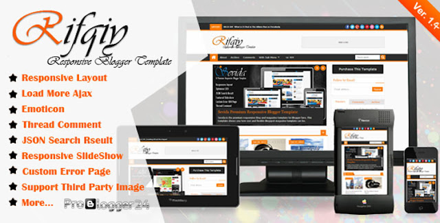 rifqiy blogger template free download