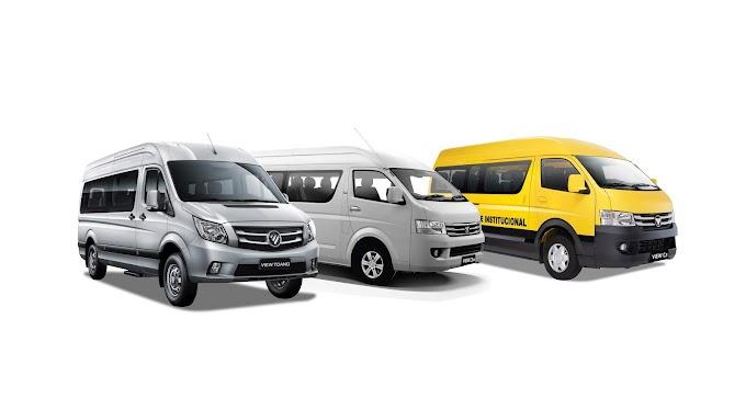 Foton, líder en ventas de vans