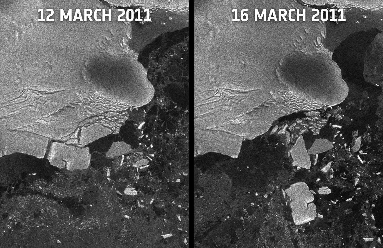 Orbiter Space News Japan Tsunami Caused Icebergs To