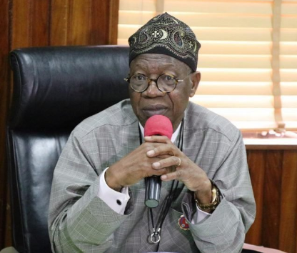 """""""Don't Believe What They Call Me On Social Media"""" – Lai Mohammed Begs Senators"""