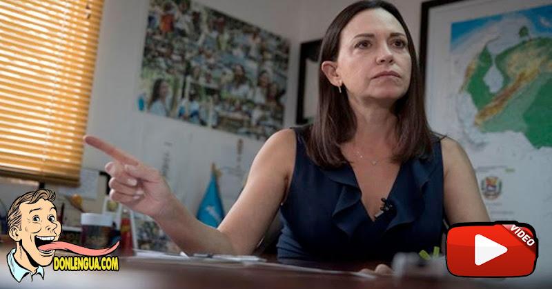 DESCUBRIENDO AGUA FRÍA | María Corina dice que la única salida es una intervención militar