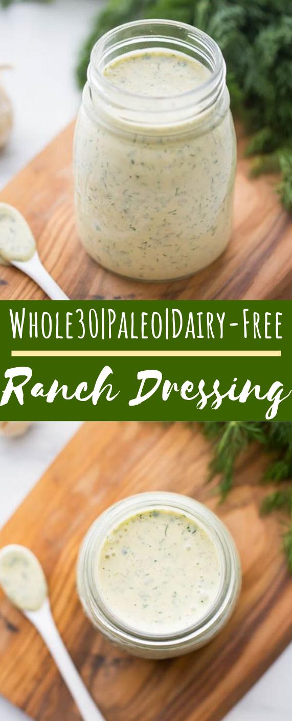 "Whole30 Ranch Dressing ""Dump Ranch"" #paleo #healthy"
