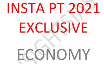 Insights IAS Prelims 2021 Exclusive Economy