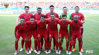 Skor Indonesia vs Mauritius 1-0 Friendly Match Selasa 11/9/2018