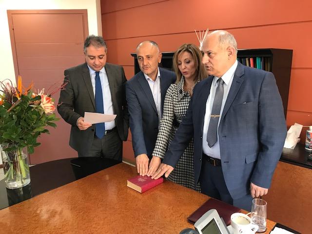 Ορκίστηκε η νέα Διοικήτρια στο Γενικό Νοσοκομείο Αργολίδας Μαρία Σαρίδη