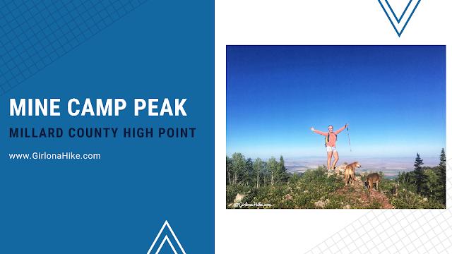 Mine Camp Peak, Millard County High Point