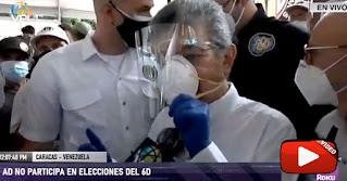 Ramos Allup llama Alacranes a los que quieran participar en el fraude del 6D