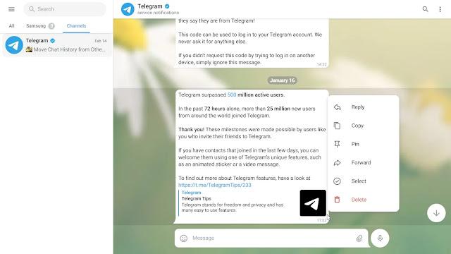 Telegram new web version technotesarabic.com