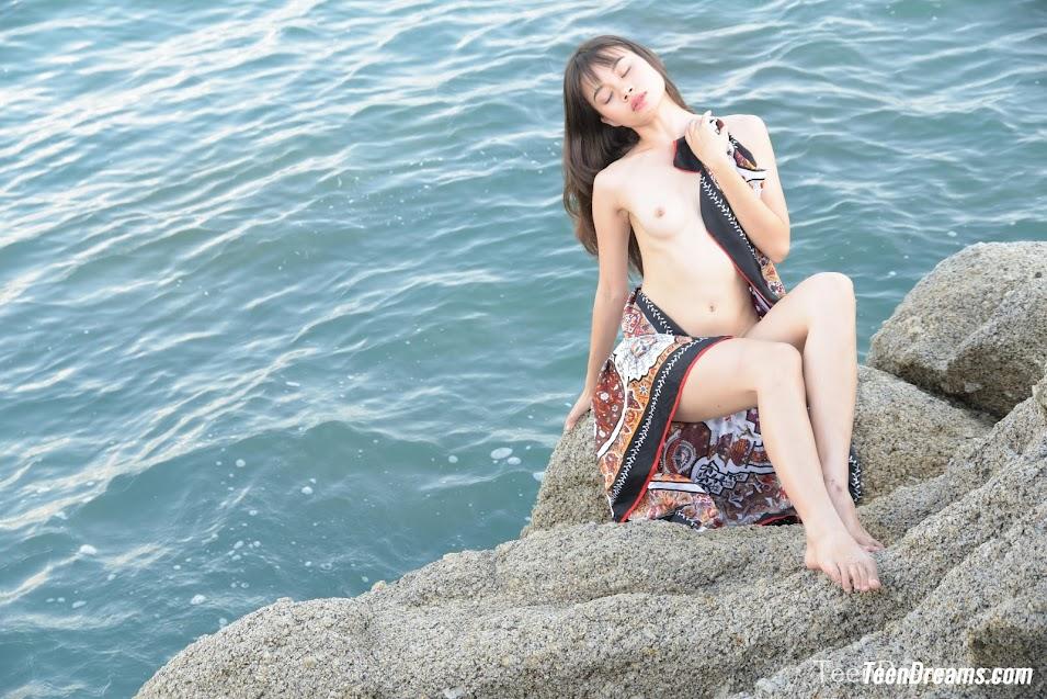 [TeenDreams] Sowan - On The Rocks Outdoors Naked 1599469771_sowan-ontherocks-photos-10