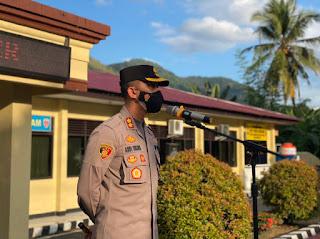 Kapolres Enrekang Himbau Sholat Idul Adha Tetap Mematuhi Protokol Kesehatan ketat