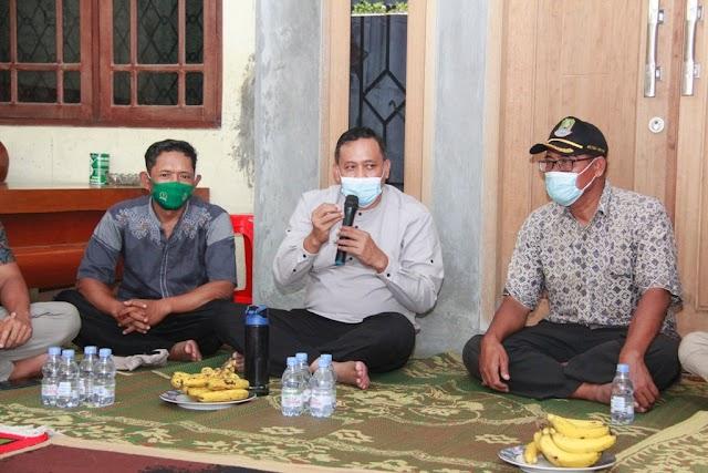 Wakil Walikota Bekasi Dorong UMKM Pengerajin Tempe Bentuk Paguyuban Dan Koperasi