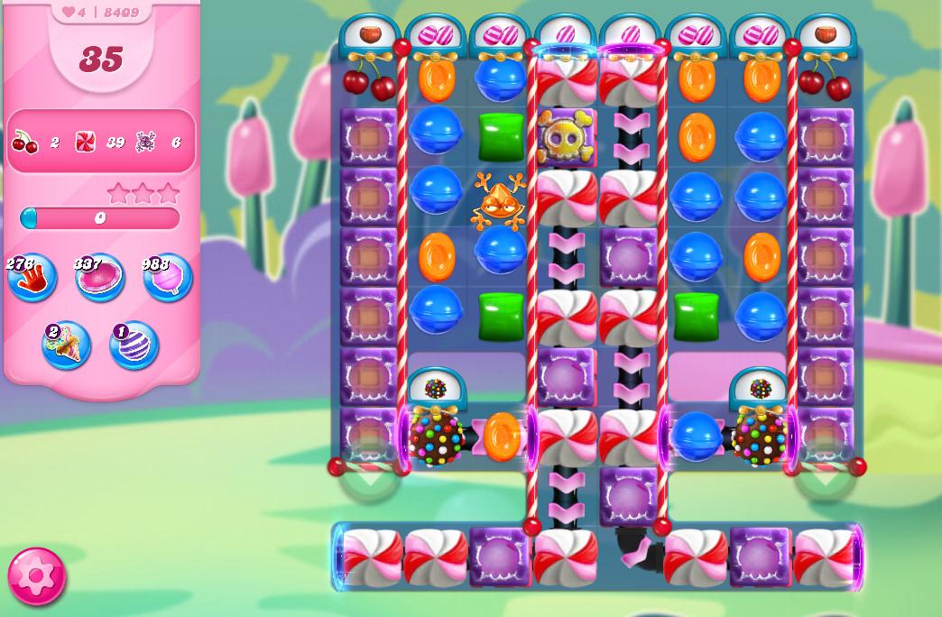 Candy Crush Saga level 8409