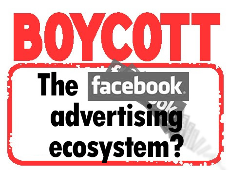 Start thinking about boycott of the Facebook advertising ecosystem in Leader v. Facebook