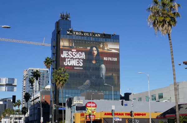 Giant Jessica Jones season 2 billboard