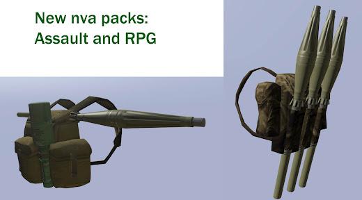 Arma3用Unsungベトナム戦争MODのバックパック