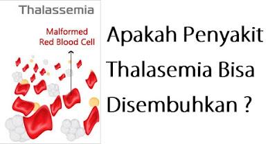 Apakah Penyakit Thalasemia Bisa Disembuhkan ?