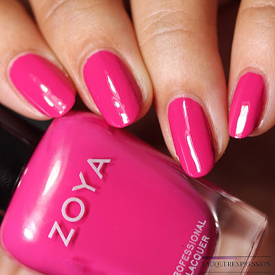 Nail Polish Swatch and Review of Zoya Ellie from the Zoya Sunshine Collection for Summer 2018