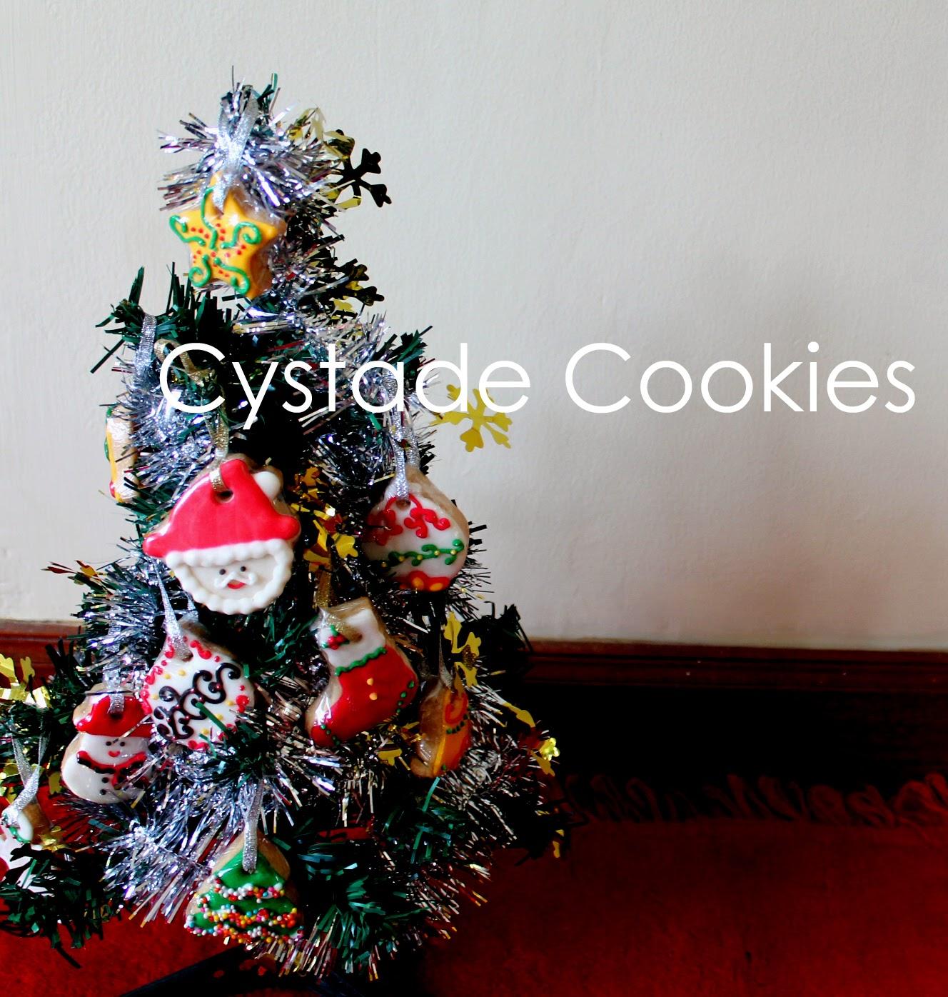 Cystade Cake and Cookies: HIASAN POHON NATAL UNIK DAN BISA