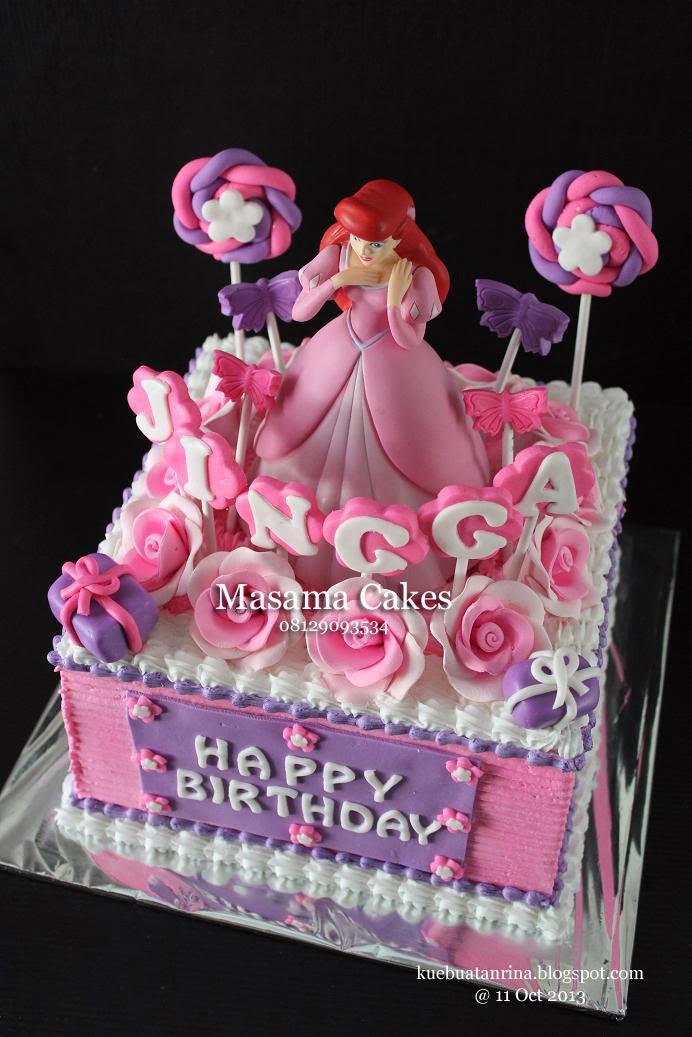 Masama Cakes Princess Ariel Themed Birthday Cake For