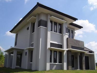 denah rumah minimalis 2 lantai type 130, 145, 175, 210, 220