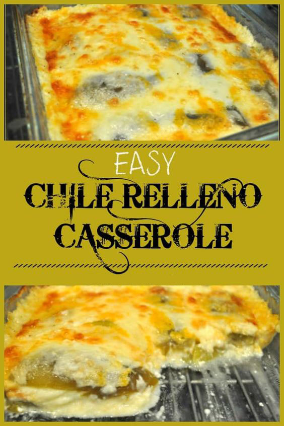 Easy Chile Relleno Casserole Recipe