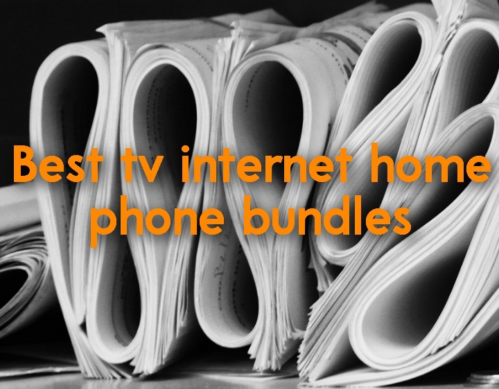 Best tv internet home phone bundles