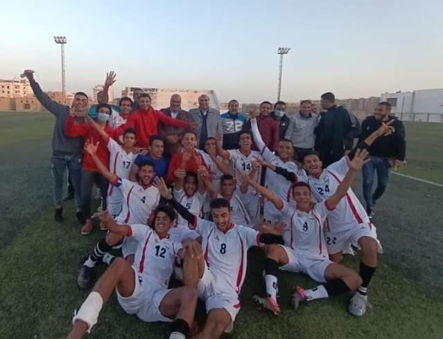 المنيا 2003 بطلاً لدوري المنطقة بفوز كبير على مغاغه بخماسية نظيفة