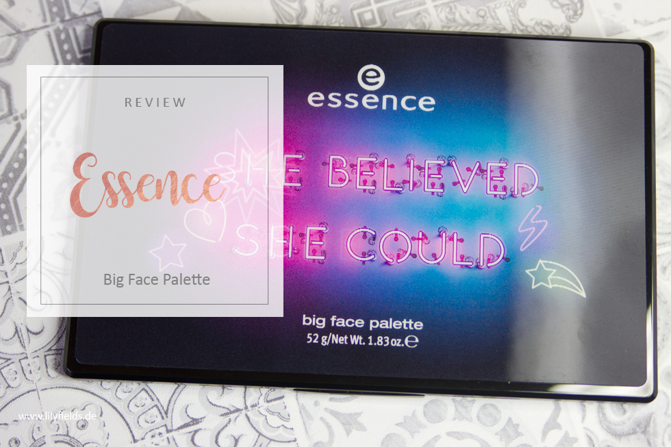 "Essence - ""she believed she could, so she did"" big face palette"